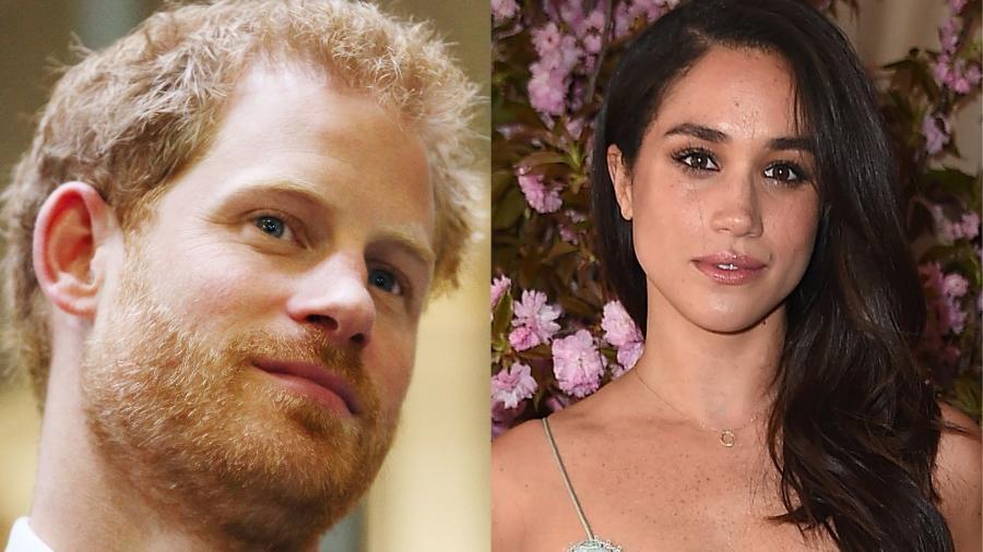 Príncipe Harry e a namorada, a atriz Meghan Markle - Getty Images