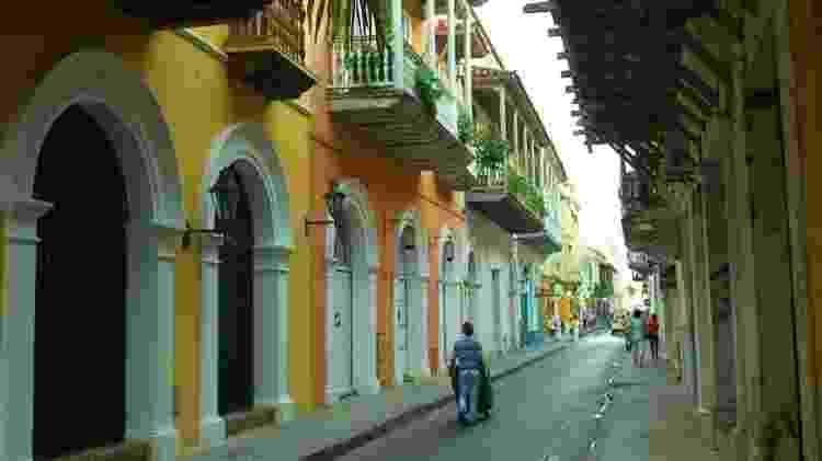 Cartagena, na Colômbia - Adriana Terra/UOL - Adriana Terra/UOL