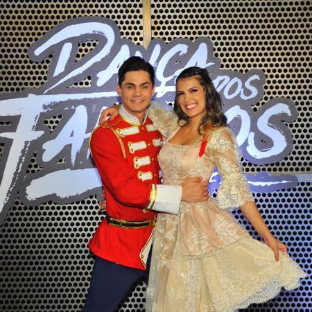 """Lucas Veloso nega favoritismo na """"Dança dos Famosos""""; ele e Nathalia Melo conquistaram o segundo lugar no quadro - Samuel Chaves/Brazil News"""