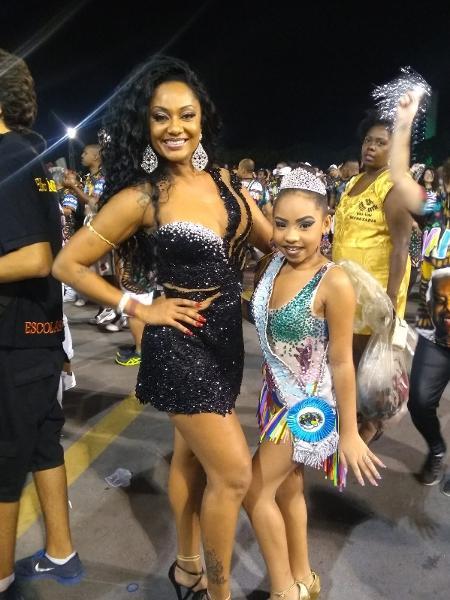 Camila Silva e Juliana Teixeira, da Vai-Vai - Divulgação