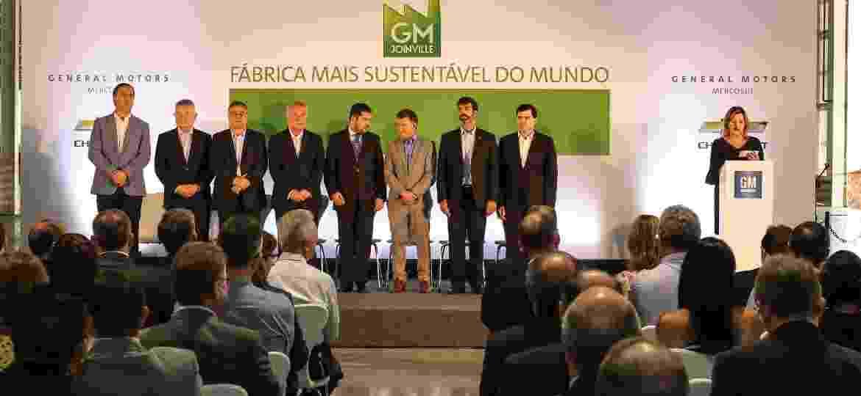 Fábrica da General Motors em Joinville (SC) faz os motores 1.0 e 1.4 SPE e também é uma das mais sustentáveis da empresa no mundo - Divulgação