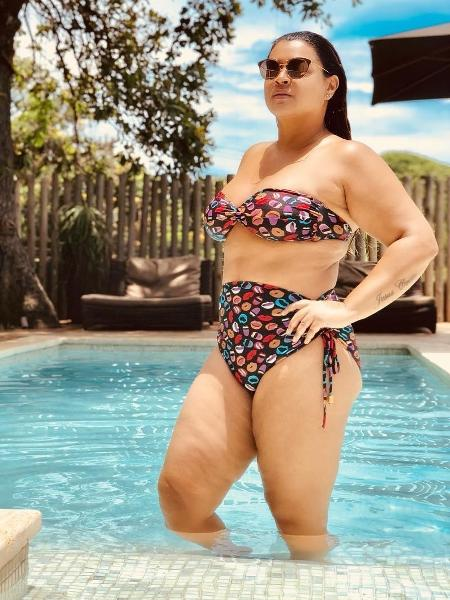 """Preta Gil publica foto de biquíni e desabafa: """"Fomos massacradas por uma ditadura que nos dizia que era feio mostrar isso, era feio não ter o corpo magro..."""" - Reprodução/Instagram"""