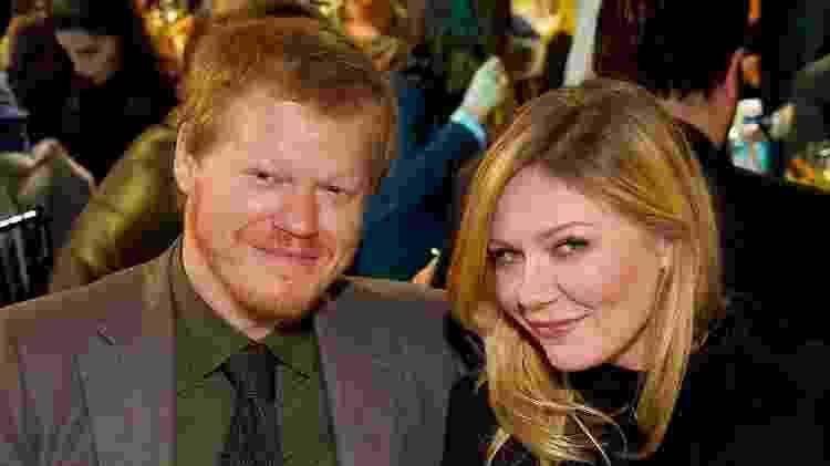 O casal de atores Jesse Plemons e Kirsten Dunst - Getty Images - Getty Images