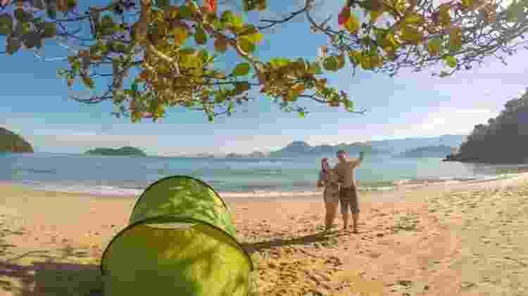 A família em um dia de praia em Ubatuba, litoral norte de SP - Deixa de Frescura/Divulgação - Deixa de Frescura/Divulgação