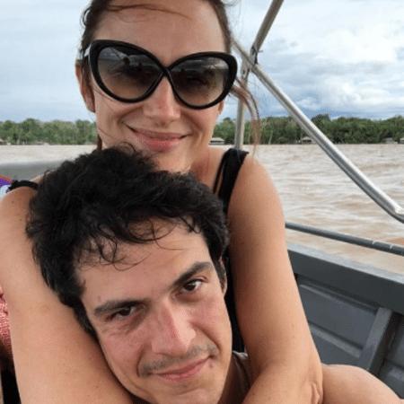 Mateus Solano e Paula Braun em Belém - Reprodução/Instagram