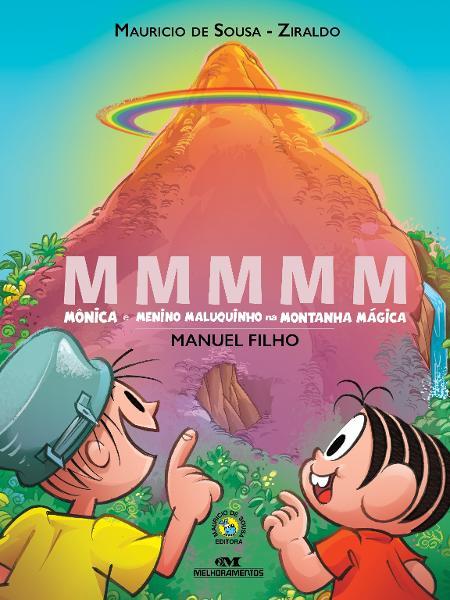 Capa do livro de Mauricio de Sousa e Ziraldo - Divulgação