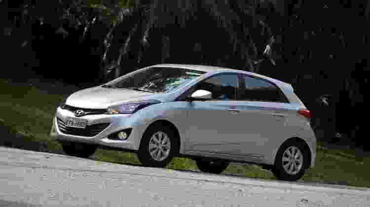 """Design moderno e """"cara"""" de carro premium fizeram o HB20 virar sucesso - Murilo Góes/UOL"""