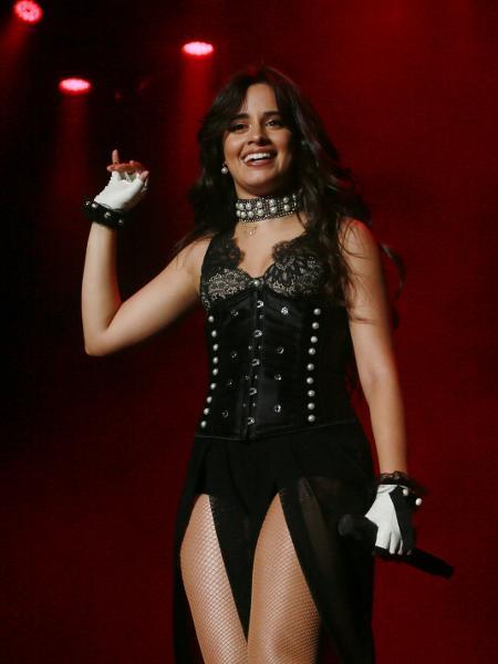 Camila Cabello se apresenta durante o Z Festival, no Allianz Parque, em São Paulo - Iwi Onodera/UOL