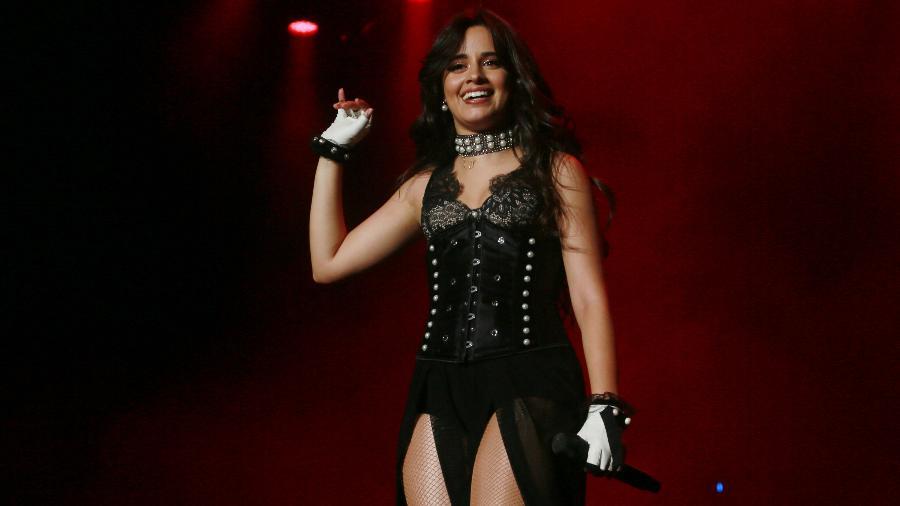 Camila Cabello se apresenta durante o Z Festival, no Allianz Parque, em São Paulo, no ano passado - Iwi Onodera/UOL