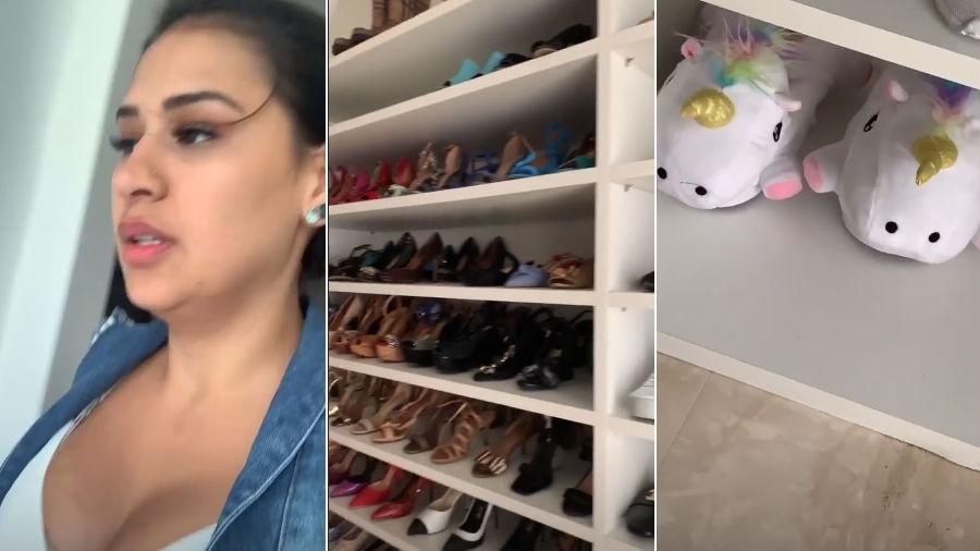 Simone mostra closet - Reprodução/Instagram