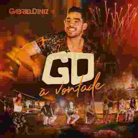 """Capa de """"GD À Vontade"""", novo álbum de Gabriel Diniz  - Divulgação"""