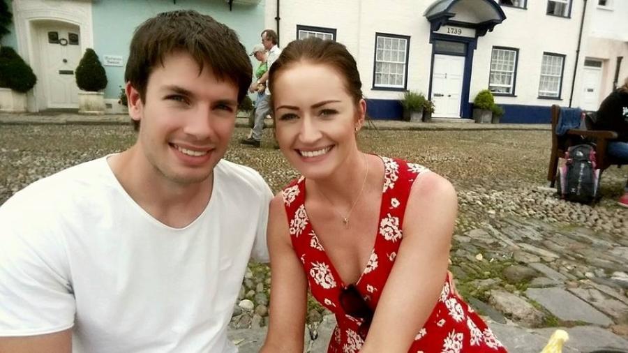 Jade e Mark decidiram abortar a primeira filha após descoberta de grave doença - Reprodução/Facebook