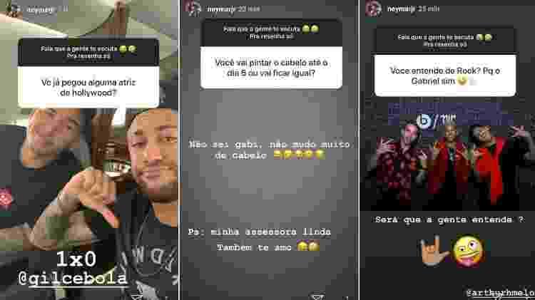 Neymar conversa com seus seguidores - Reprodução/Instagram - Reprodução/Instagram
