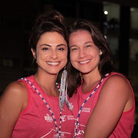 Fernanda Gentil e a Priscila Montandon   - Victor Silveira e Sércio Freitas