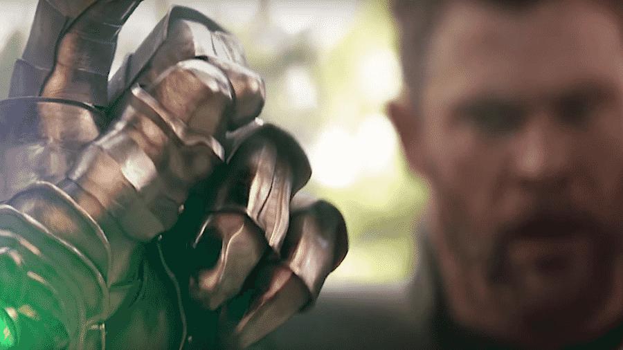 """Cena de """"Vingadores: Guerra Infinita"""" - Reprodução"""