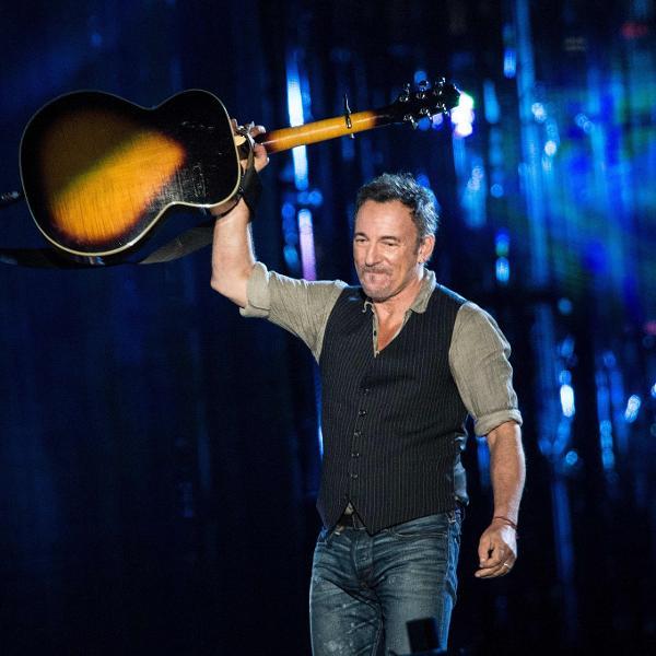 Bruce Springsteen em show de 2014 em Washington (EUA)