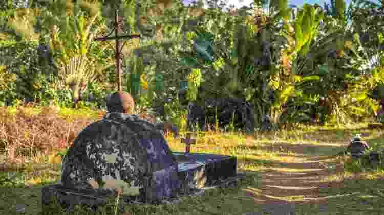 O cemitério de Nosy Boroha, em Madagascar, pode ser visitado por turistas - javarman3/Getty Images/iStockphoto