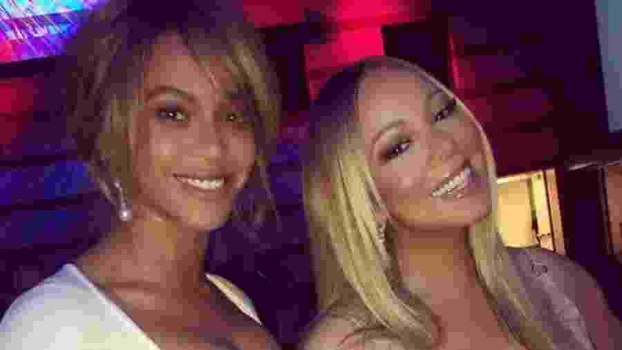 Beyoncé e Mariah Carey - Reprodução/Instagram