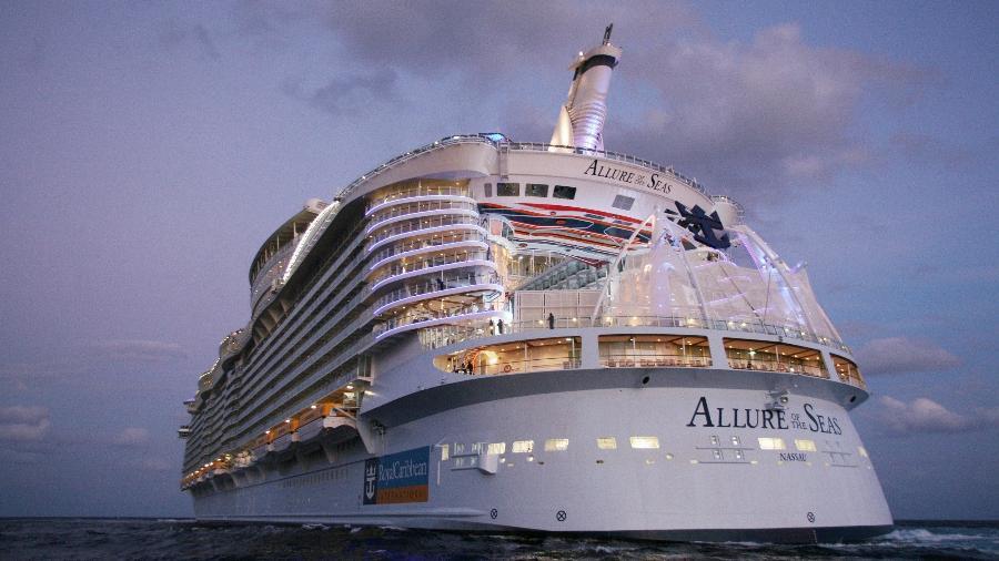 Allure of the Seas, navio da Royal Caribbean - Divulgação