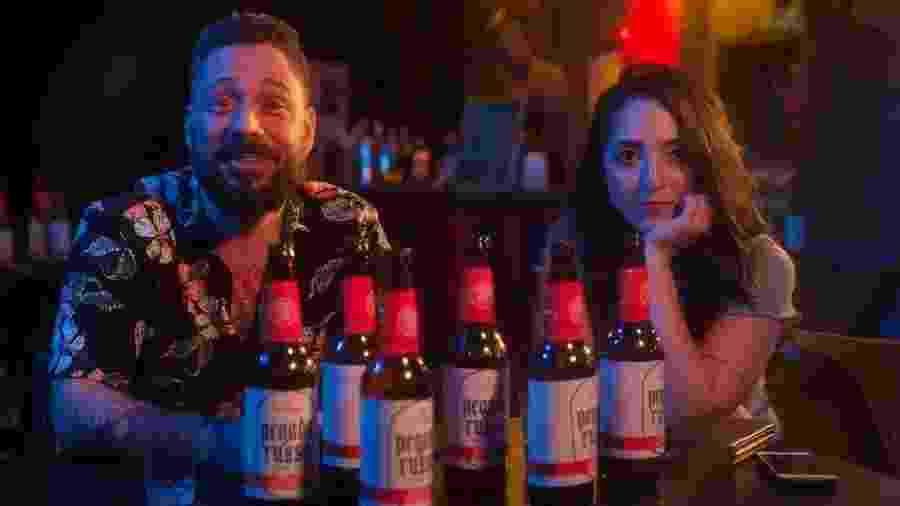 """Paulo e Vanessa, em no filme erótico """"Altos e Baixos"""", do SexyHot, que aborda a masculinidade tóxica - Divulgação/ SexyHot"""