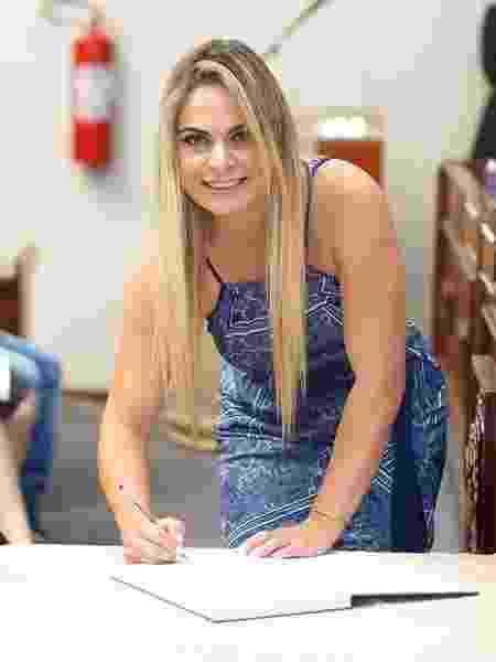A vereadora Tatiana Nogueira  - Arquivo Pessoal