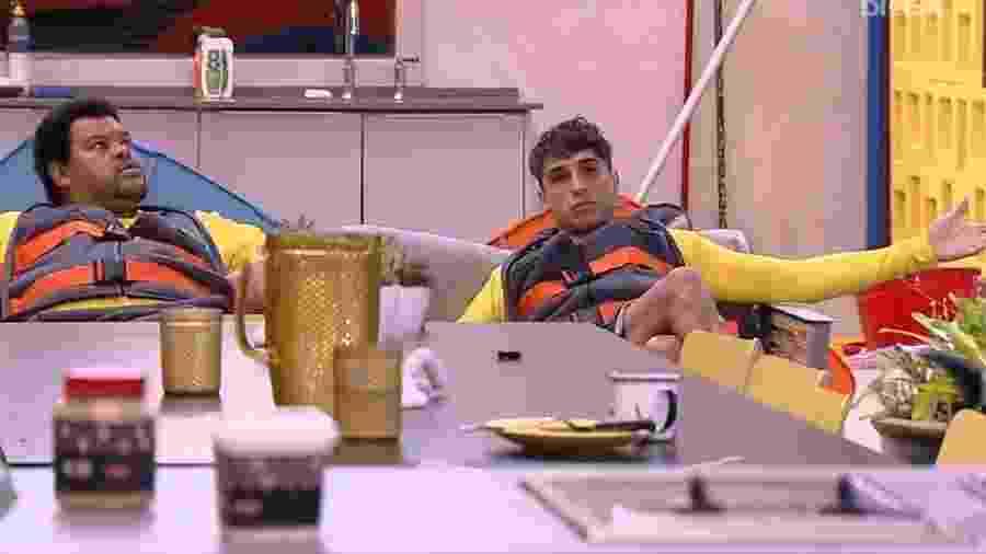 BBB 20: Babu e Prior discutem voto - Reprodução/Globo