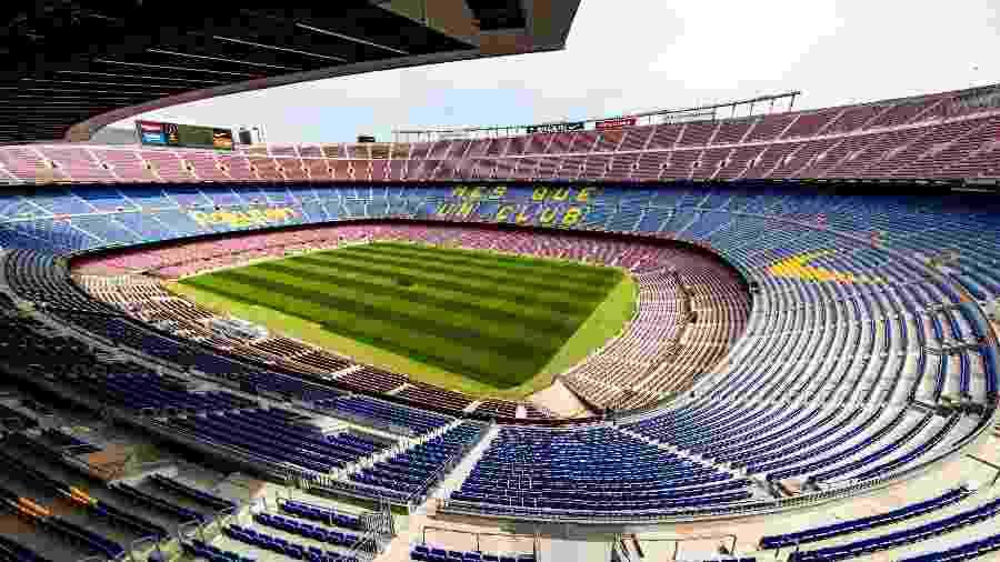 Camp Nou é um dos estádios do Campeonato Espanhol que não terá público tão cedo - German Parga/FCBarcelona