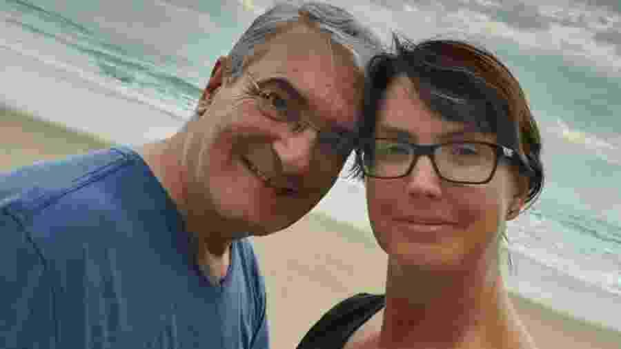 Alessandra Scatena com o marido, Rogério Gherbali - Reprodução/Instagram