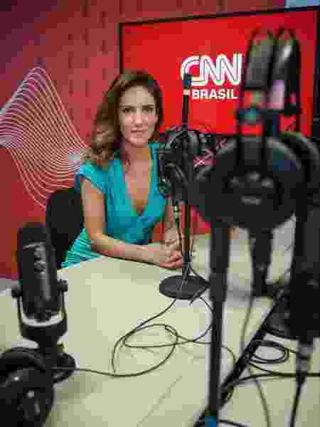 "Monalisa Perrone estará também na""CNN Rádio"", na Transamérica FM - Reprodução"