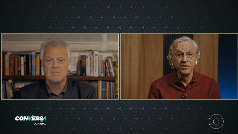 """Caetano Veloso fala sobre o filme """"Narciso em Férias"""" no """"Conversa com Bial"""" - Reprodução"""