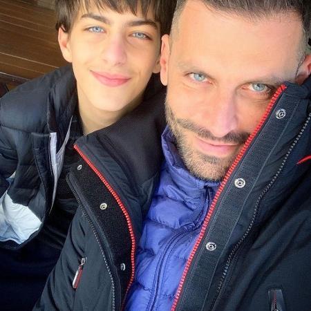 Henri Castelli abriu o jogo sobre a criação do filho, Lucas - Reprodução / Instagram