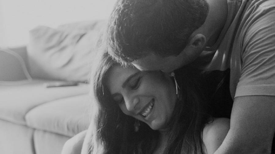 Andreia Sadi e o marido, André Rizek - Reprodução/Instagram