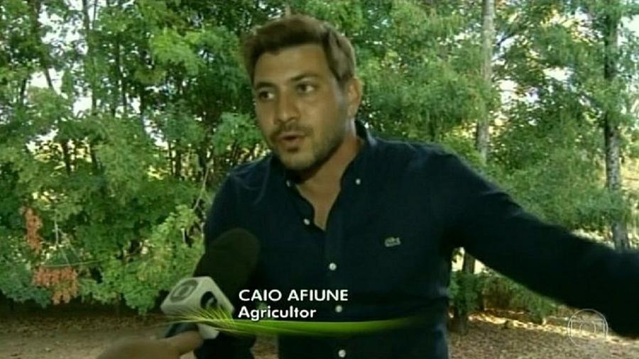 BBB 21: Caio em entrevista ao Globo Rural - Reprodução/Globoplay