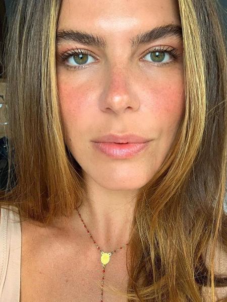 Mariana Goldfarb brinca com o próprio mau cheiro - Imagem: Reprodução/Instagram@marianagoldfarb