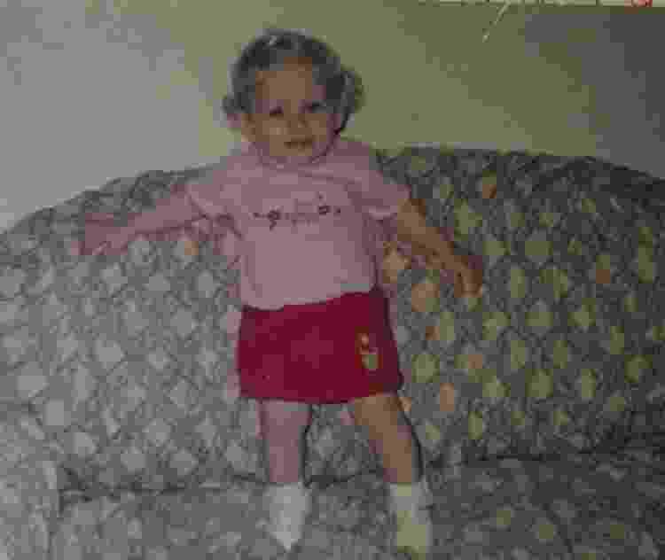 Kendra era a filha mais nova de Sandra; mãe e filha nasceram em Santa Catarina, mas moravam em Mirassol D'Oeste (MT) - Arquivo pessoal - Arquivo pessoal
