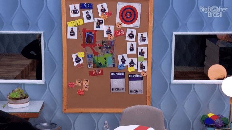 BBB 21: Como ficou o quadro de espiã de Carla Diaz no quarto secreto - Reprodução / Globoplay - Reprodução / Globoplay