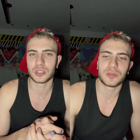Leo Picon grava vídeo para pedir desculpas - Reprodução / Instagram