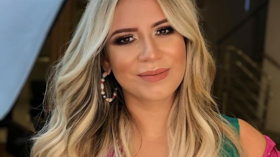 Marília Mendonça pediu aos fãs que passaram a seguir DJ Ivis que deixem de acompanhá-la nas redes - Reprodução/Instagram