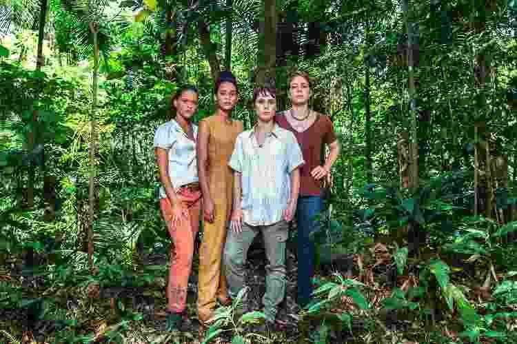 Em Aruanas, Leandra Leal é uma ativista ambiental e atua com Thainá Duarte, Taís Araújo e Débora Falabela - Globo/Fábio Rocha - Globo/Fábio Rocha