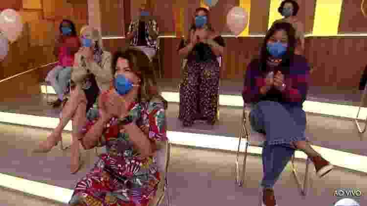 Plateia - Reprodução/TV Globo - Reprodução/TV Globo