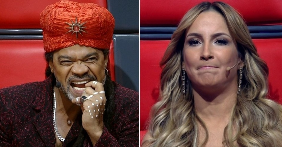 Carlinhos Brown e Claudia Leitte no