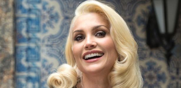Flávia Alessandra diz que visual de vilã foi inspirado em divas de Hollywood - Estevam Avellar/Divulgação/TV Globo