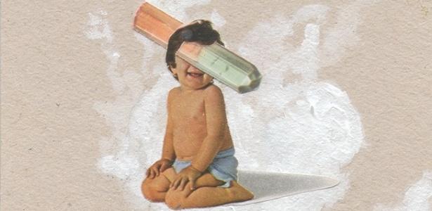 """Obra da série """"Pequeno Deus"""", de Julio Lapagesse - Divulgação"""