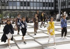 Exotismo da África e da Índia inspira desfiles de moda masculina de Paris - Getty Images