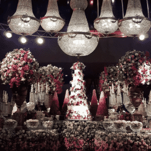 03.out.2016 - Gustavo Lima e Andressa Suita se casam com festa luxuosa em Minas Gerais - Reprodução/Instagram kakafagundesdescoração