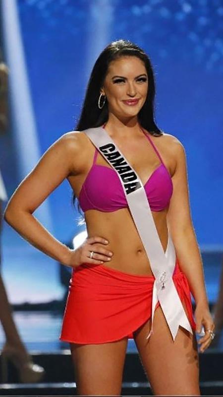 A atual Miss Canadá, Siera Bearchell - Reprodução/Instagram