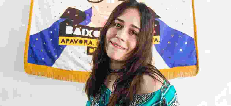 Alessandra Negrini no lançamento da camiseta do bloco Acadêmicos do Baixo Augusta em São Paulo - Ricardo Matsukawa / UOL