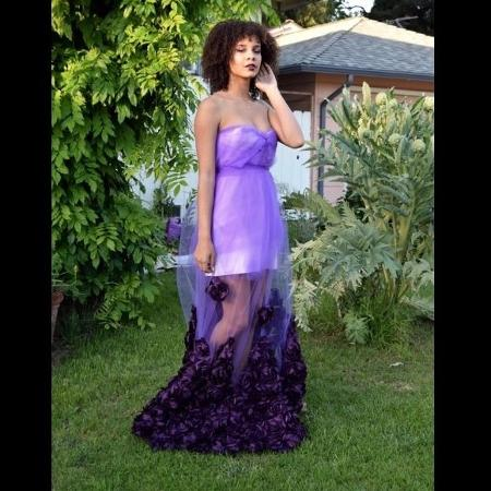 Shami Oshun criou seu próprio vestido de formatura - Reprodução/Twitter