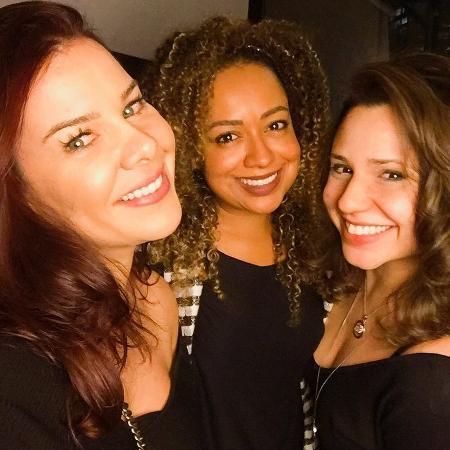 Fernanda Souza, Aretha Oliveira e Francis Helena - Reprodução/Instagram