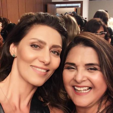 Maria Fernanda Cândido e Elizangela - Reprodução/Instagram